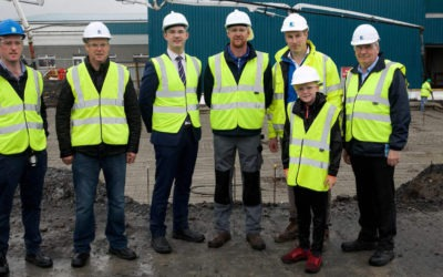 Aurivo lays foundations at €26m upgraded production facility in Ballagherderreen