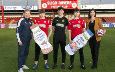 Connacht Gold commits to continued support for Sligo Rovers for the season ahead