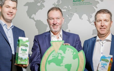 Aurivo launch 1.75L Renewable Bio-Based Carton for its Connacht Gold Milk Brand as part of sustainability strategy