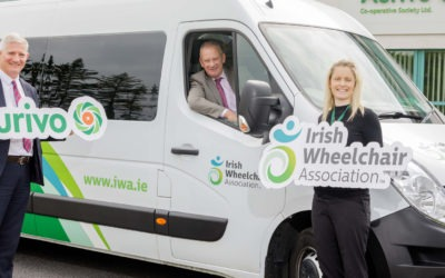Aurivo Goes the Extra Mile for the Irish Wheelchair Association