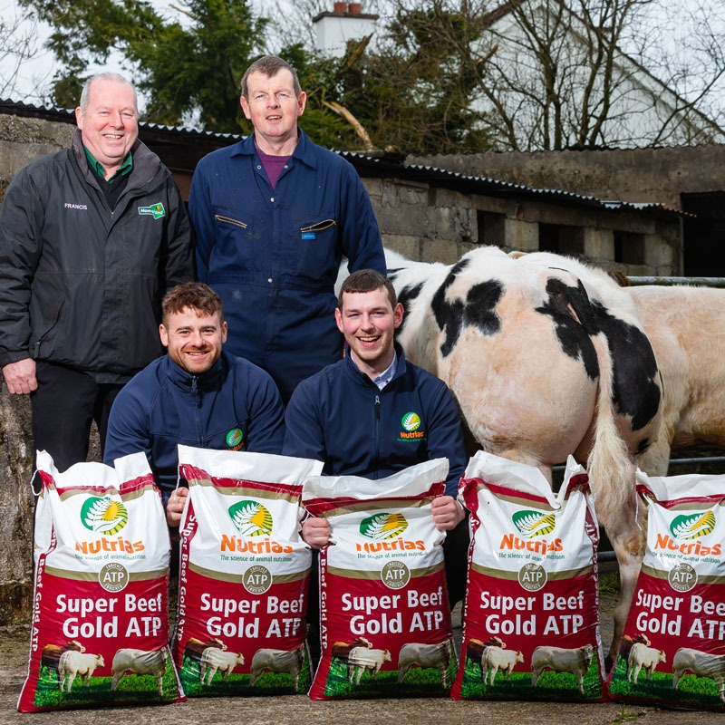 """""""I'm delighted with the product. My cattle are turning out consistent performance."""""""